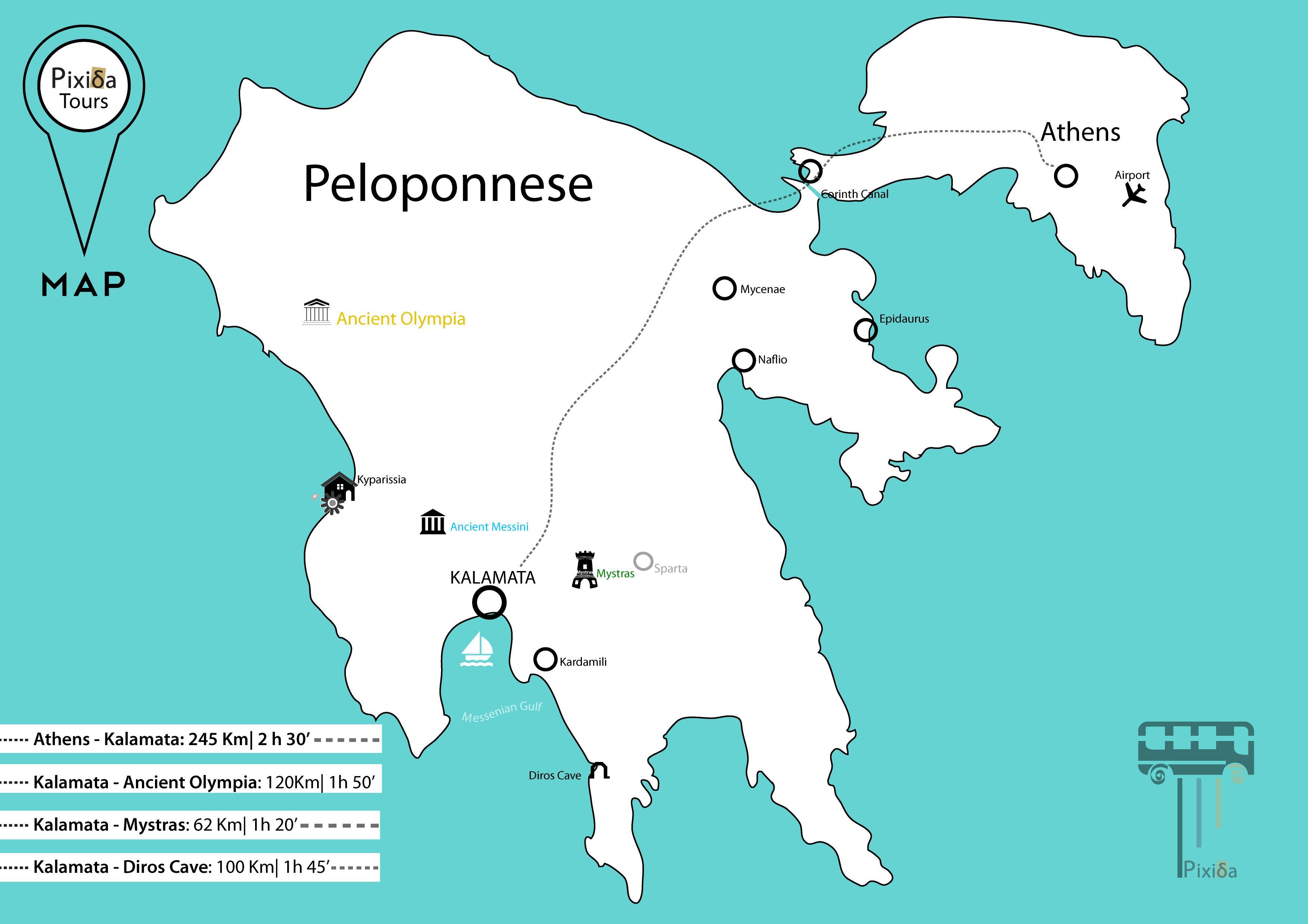 Cartina Della Grecia Antica In Italiano.Peloponneso Grecia Antica Mappa Cartina Dell Antica Grecia Peloponneso Europa Del Sud Europa